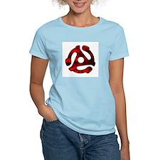 45 Adapter Women's Pink T-Shirt