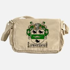 Sweeney Coat of Arms Messenger Bag