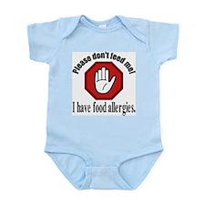 Food Allergy 2 Infant Bodysuit