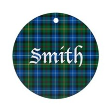 Tartan - Smith Ornament (Round)