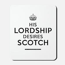 His Lordship Mousepad