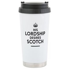 His Lordship Travel Mug