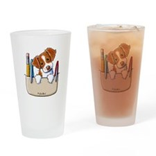 Brittany Pocket Protector Drinking Glass