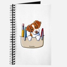 Brittany Pocket Protector Journal