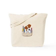Brittany Pocket Protector Tote Bag