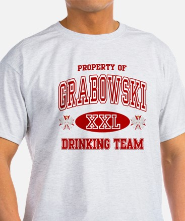 Grabowski Polish Drinking Team T-Shirt