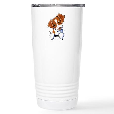 Pocket Brittany Stainless Steel Travel Mug