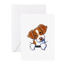 Pocket Brittany Greeting Cards (Pk of 10)