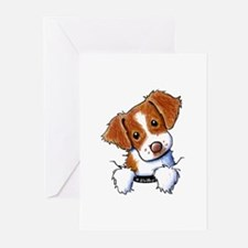 Pocket Brittany Greeting Cards (Pk of 20)