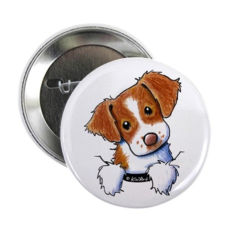 "Pocket Brittany 2.25"" Button (100 pack)"