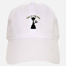 Talk To The Paw Baseball Baseball Cap