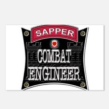 US Army Combat Engineer Sappe Postcards (Package o