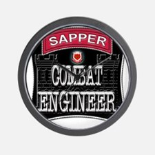 US Army Combat Engineer Sappe Wall Clock