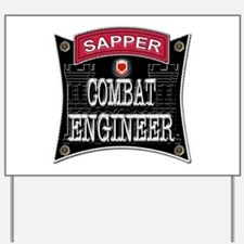 US Army Combat Engineer Sappe Yard Sign