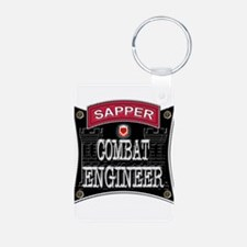 US Army Combat Engineer Sappe Keychains