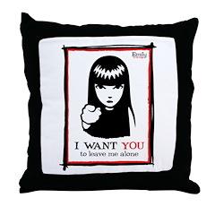 I Want You Throw Pillow