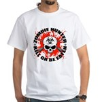 Zombie Hunter 1 White T-Shirt