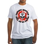Zombie Hunter 1 Fitted T-Shirt