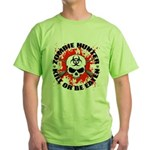 Zombie Hunter 1 Green T-Shirt