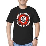 Zombie Hunter 1 Men's Fitted T-Shirt (dark)