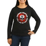 Zombie Hunter 1 Women's Long Sleeve Dark T-Shirt
