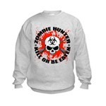 Zombie Hunter 1 Kids Sweatshirt