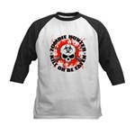 Zombie Hunter 1 Kids Baseball Jersey