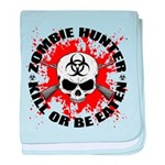 Zombie Hunter 1 baby blanket