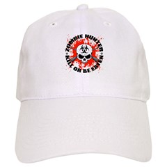 Zombie Hunter 1 Baseball Cap