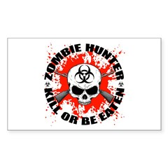 Zombie Hunter 1 Decal