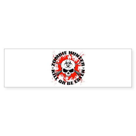 Zombie Hunter 1 Sticker (Bumper)