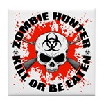 Zombie Hunter 1 Tile Coaster
