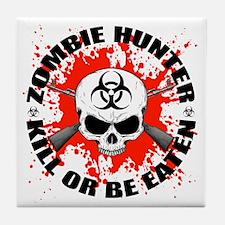 Zombie Hunter 1 Tile Coaster