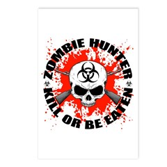 Zombie Hunter 1 Postcards (Package of 8)