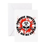Zombie Hunter 1 Greeting Cards (Pk of 10)