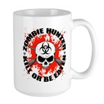 Zombie Hunter 1 Large Mug
