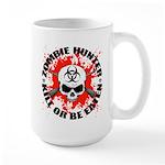 Zombie Hunter 1 Large Mug