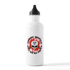 Zombie Hunter 1 Water Bottle