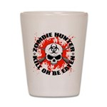 Zombie Hunter 1 Shot Glass