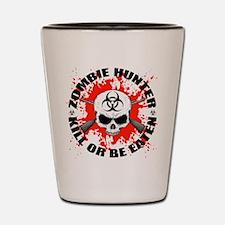 Zombie Hunter 1 Shot Glass