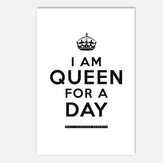 Queen For A Day Postcards (Package of 8)