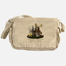 Cute Camping Messenger Bag