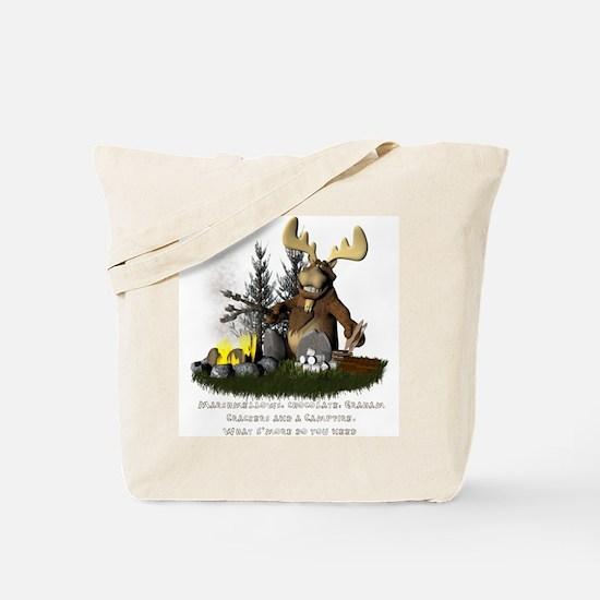 Cute Camping Tote Bag