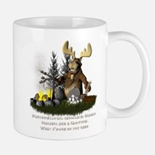 campfiremoose2 Mugs
