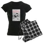 Lazy Women's Dark Pajamas