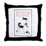 Lazy Throw Pillow