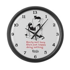 Lazy Large Wall Clock