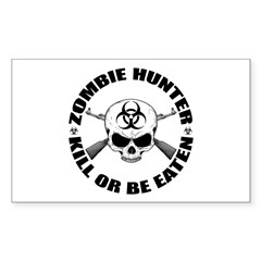 Zombie Hunter 2 Decal