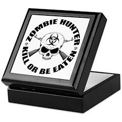 Zombie Hunter 2 Keepsake Box