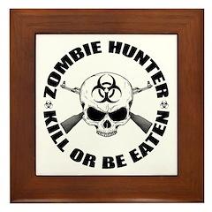 Zombie Hunter 2 Framed Tile
